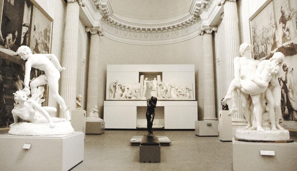 Resultado de imagen para museo oficial DE RODIN de París.
